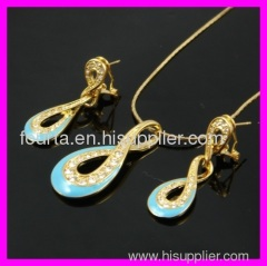 FJ special fashion 18k gold plated set IGP