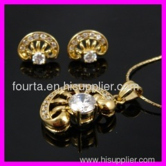 fashion 18k gold plated set 1120337 IGP