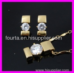 fashion 18k gold plated set IGP
