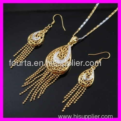 fallon elegant 18k gold plated set