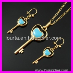 fallon 18k gold plated set IGP