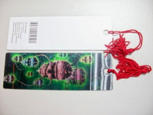 Promotional 3d Bookmark with Tassel