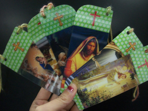 3D Religion Bookmark