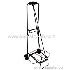 Folding luggage trolley
