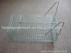 galvanized catch rat cage