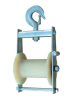 3KN bunched conductor stringing pulley block