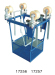 overhead power line aerial spacer trolley cart for 2 bundle conductor