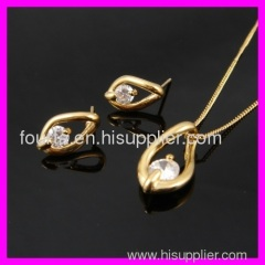 FJ special 18k gold plated set