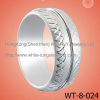 Fashion Gift White Tungsten Ring