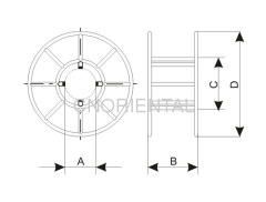puller tensioners steel wire rope reel
