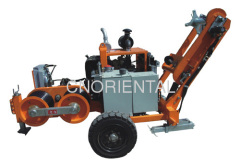 6 Ton hydraulic conductor stringing equipment for overhead electric transmission lines