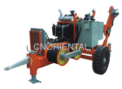 40KN/4T hydraulic conductor puller for overhead transmission line aerial bundled conductor stringing construction
