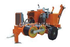 9Ton linepull hydraulic pressure conductor drum puller