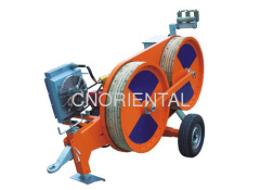 3Ton hydraulic conductor tensioner for tension stringing
