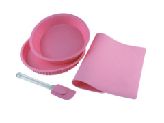 4Pcs Silicone Cake Mold Set
