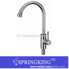 Fashion Stainless Steel Faucet Kitchen Faucet