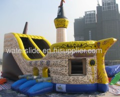 Pirate commercial water slide
