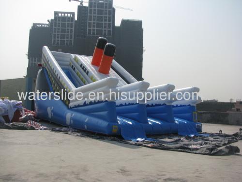 Titanic water slide