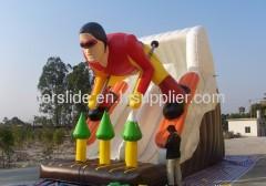 Skier water slides hire