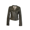 Lamb nappa ladies' jacket