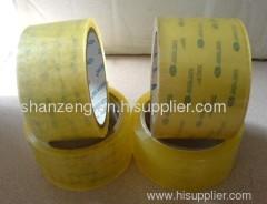 yellowish tape