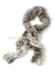 Fake rabbit fur scarf