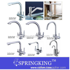 Hot Cold And Filtered Water Tri-flow Faucet
