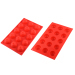 15 Cavities Silicone Chocolate & Cookie Mould/ Ice Cube - Flower Pattern