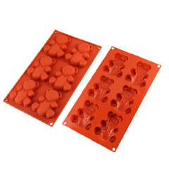 Silicone Chocolate & Cookie Mould /Bakeware-- Bear Shape
