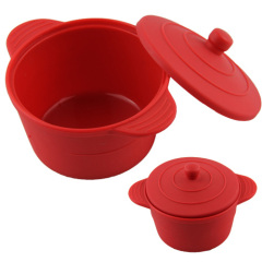 Silicone Mini Casserole/Cake Mould /Cook Steamer/Roaster