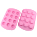 Silicone Cake Mould -- 12 cup muffin