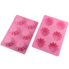 Brioche shape pink silicone Cake Pan Baking Mold