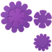 2 In 1 Silicone Coaster Flower Shape