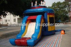 Birthday water slide bounce house