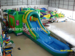 inflatable slides wet dry combo