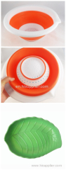 silicone fruit plate