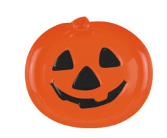 Novelty Plastic Tray-- Hallowmas /Pumpkin