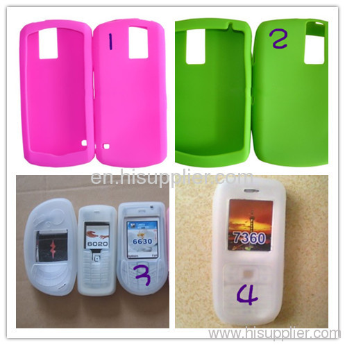silicone cell-phone case