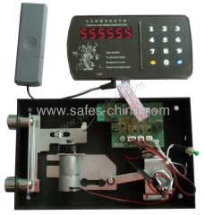 Digital touch screen safe lock