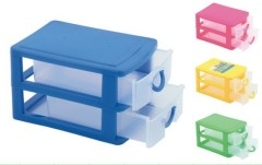 Plastic Organizer /Box -- 2 Layers