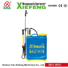 double pump spraying machines