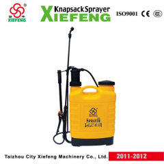 operated spraying tool