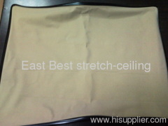 burshed suede tension ceiling