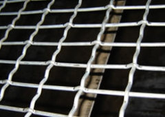 low carbon steel wire crimped mesh