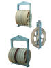 660mm Large diameter steel wire rope tension stringing pulley block
