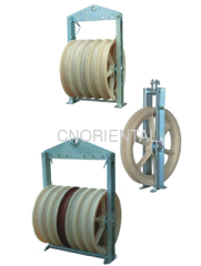 steel wire rope pulley block