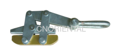 steel wire rope gripping clamps