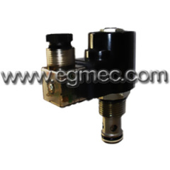 2-Way 110VAC Solenoid Operated Poppet type Cartridge Valve