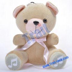 Bear Doll Speaker Mini Speaker for iPhone4/iPhone4S/iPod/Mp3/Mp4/Mobilephone