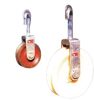 hook type clip-in sagging block pulley